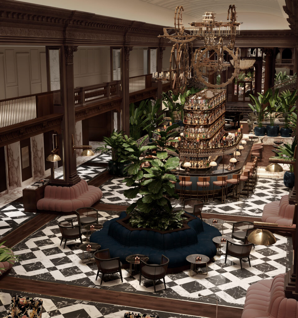 Fairmont Olympic Hotel – Seattle introduces new lobby and lobby bar experience.