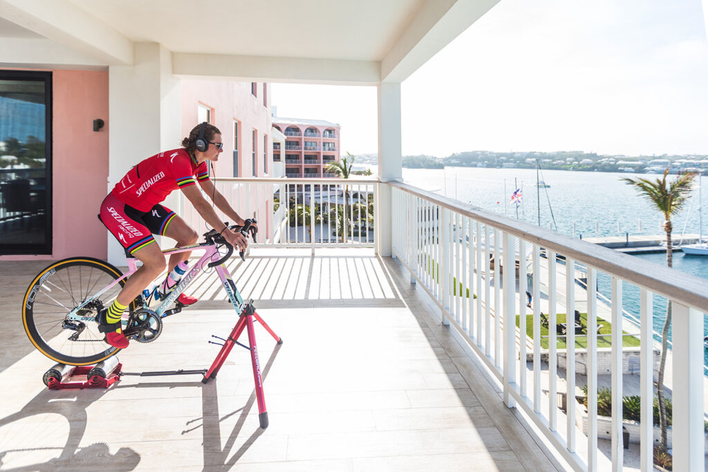 Bermuda goes for the Gold: Celebrating a Local Hero